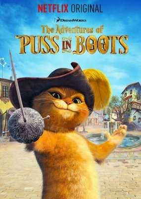 Приключения кота в сапогах 1-7 сезон