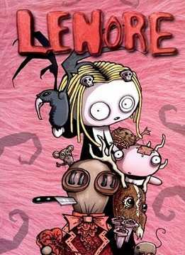 Картинка к мультфильму Ленор маленькая мертвая девочка