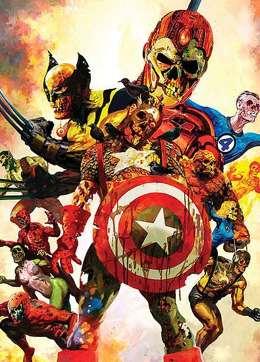 Фан бои между супер героями