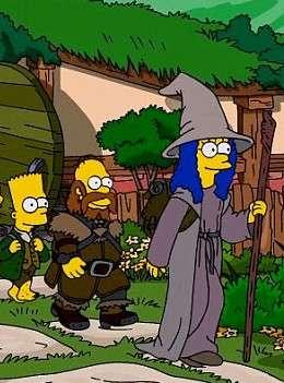 Симпсоны пародие на Хоббит