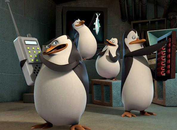 Пингвины из Мадагаскара – Улыбаемся и машем парни