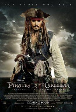 Пираты Карибского моря: Мертвецы не рассказывают сказки 720 HD (2017)