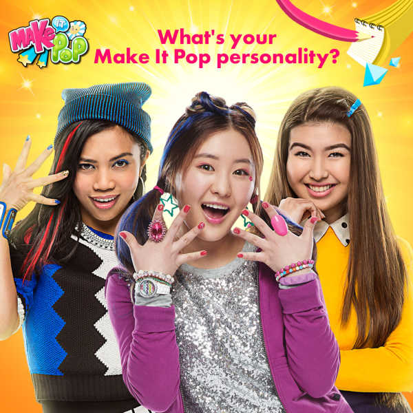 Зажигай / Мэйк ит Поп / Make it pop Nickelodeon слушать онлайн