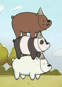 Мы обычные медведи / Вся правда о медведях 1,2,3,4 сезон