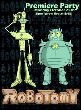 Картинка к мультфильму Роботомия / Robotomy Cartoon Network