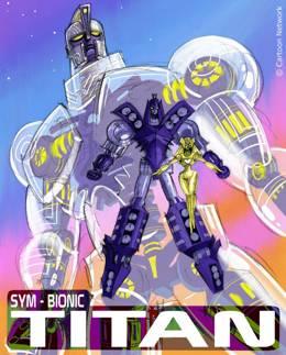 Картинка к мультфильму Сим-Бионик Титан Cartoon Network