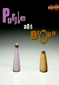 Nickelodeon Purple And Brown