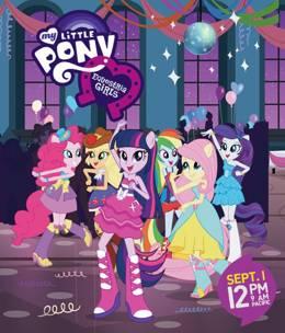 Картинка к мультфильму Мой Маленький Пони: Девочки из Эквестрии 2 - Радужный Рок