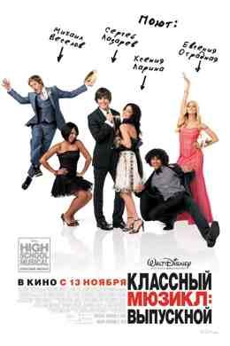 Классный мюзикл 3: Выпускной (2008)