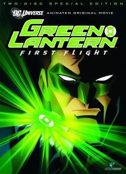 Картинка к мультфильму Зеленый Фонарь: Первый полет (2009)
