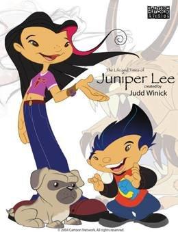 Картинка к мультфильму Жизнь и приключения Джунипер Ли