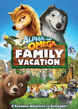 Альфа и омега 5 семейный отдых (2016)
