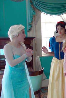 Заморозка. Дуэт диснеевских принцесс смотреть онлайн