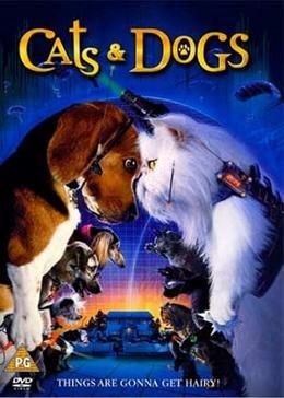 Картинка к мультфильму Кошки против собак (2001)