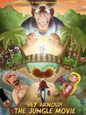 Картинка к мультфильму Эй, Арнольд! Кино из Джунглей! (2017)