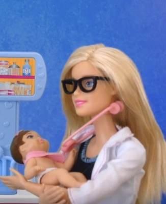 Видео с куклами