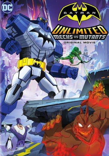 Картинка к мультфильму Безграничный Бэтмен: роботы против мутантов (2016)