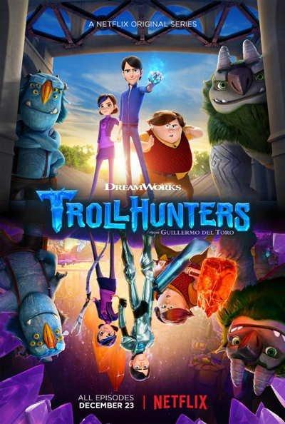 Охотники на Троллей / Troll Hunters 1,2,3 сезон