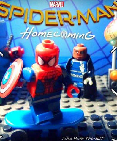Человек-паук: Возвращение домой ЛЕГО (2017)