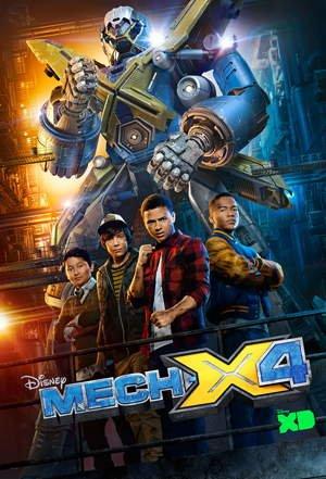 Картинка к мультфильму Мех Экс Фор / Мех Икс Disney 1,2 сезон