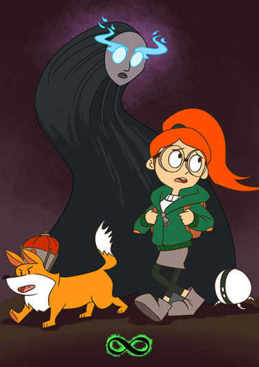 Бесконечный Поезд 1,2,3 сезон (Cartoon Network)