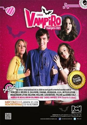 Девочка-вампир 3 / Chica Vampiro 3 сезон Gulli