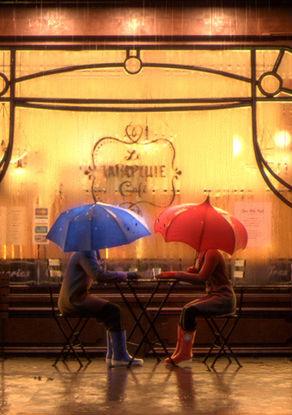 Синий зонтик смотреть онлайн