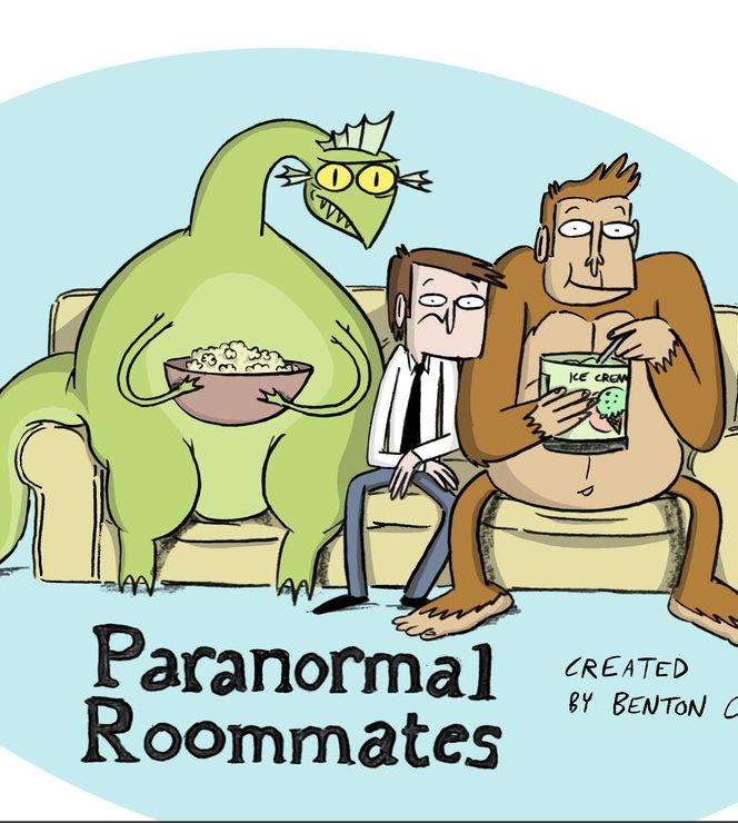 Картинка к мультфильму Паранормальные квартиранты (Paranormal Roommates)