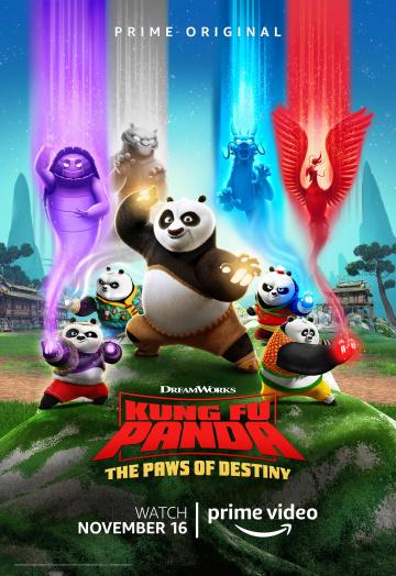 Картинка к мультфильму Кунг-фу панда: Лапки судьбы 1,2 сезон