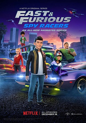 Картинка к мультфильму Форсаж: Шпионы-гонщики 1,2 сезон Netflix